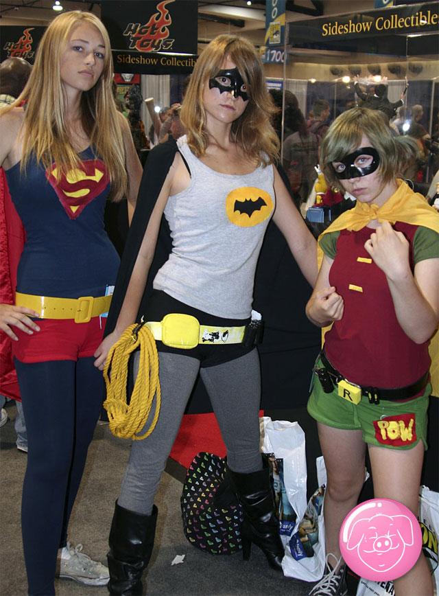 ¿Supergirl, Batgirl o RobinGirl?