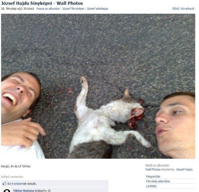 Mientras tanto en Facebook de Hungria …