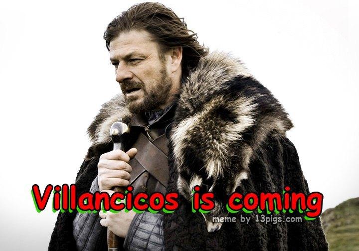 Villancicos is coming