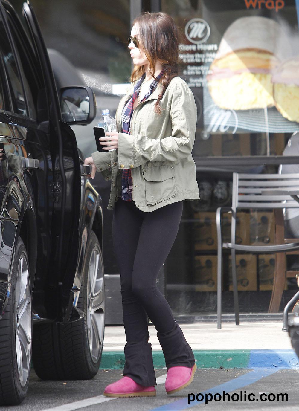 Los leggins de Megan Fox